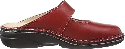 Finn Comfort Damen Stanford Clogs, Rot (Red), 39 EU