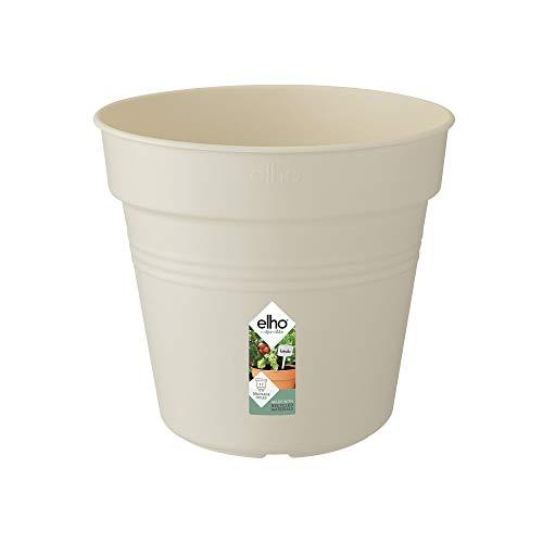 Elho Green Basics Pot De Culture 40 - Growpot - Coton Blanc - Intérieur & Extérieur - Ø 39.9 x H 36.8 cm