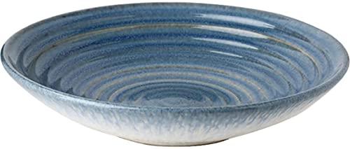 Cuenco de cerámica Vajilla Japonesa Tazón Creativo de 9 Pulgadas Tazón de Sopa para el hogar Tazón de Sopa Tazón de Pasta Tazón de Ensalada Tazón de Cereal 1 Paquete