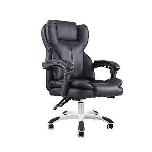 SJVR Massage-Gaming-Stuhl, Gaming Racing PC Gamer Stuhl Hochwertiger Büro-Boss-Stuhl Ergonomischer Computer-Gaming-Stuhl Internet-Café-Sitz Haushalts-Liegestuhl