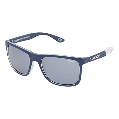 Superdry Herren SDR CRUISE Sonnenbrille, Navy/White, One Size