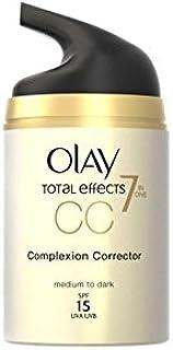 Olay Total Effects Pore Minimiser Cc Cream - Medium (50ml) (Pack of 6)