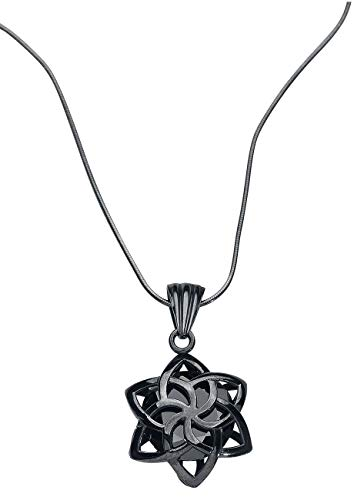 Herr der Ringe Nenya Halskette schwarz