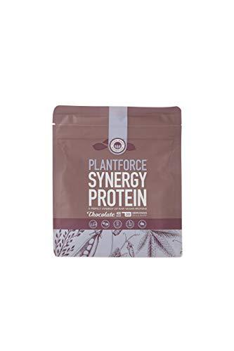 Plantforce Synergy Protein Powder, Chocolate, 400g