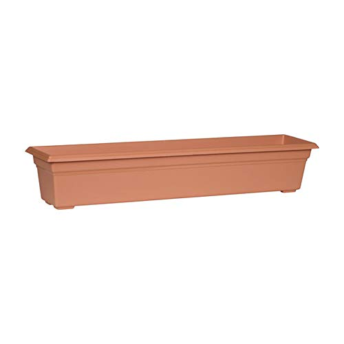 Countryside Flower Box Planter, Terracotta, 36-Inch