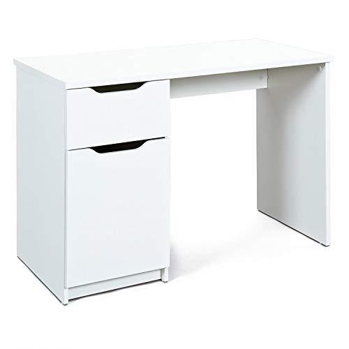 Inter Link Timeless Classic Schreibtisch Büromöbel Arbeitstisch Computertisch Laptoptisch KF-Board Weiss