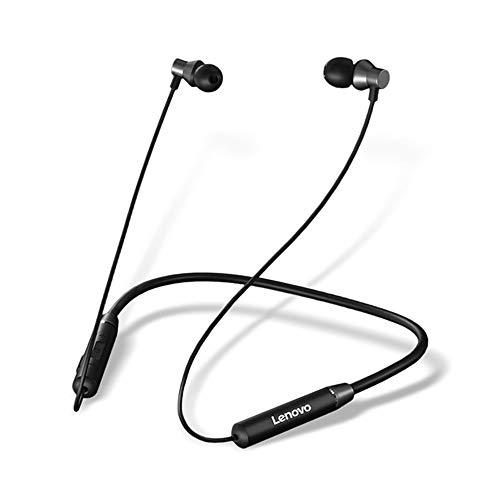 Lenovo HE05 Neckband Bluetooth Headset-Black