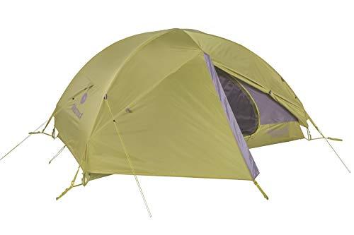 Marmot Ultraleicht Zelt 2 Personen, Kleines 2 Mann Trekking Zelt, Camping Zelt, Absolut Wasserdicht Vapor 2P, Calla Green, 2 Personen, 900816