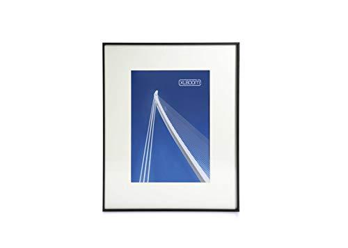 XLBoom Cadre photo moderne « Lon » noir A2 (42 x 59,4 cm) avec passe-partout en verre de haute qualité à suspendre aux yeux