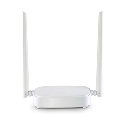 Tenda N301 Wireless N300 Router per Le Piccole e Medie Case (300 Mbps, 1 * 100Mbps WAN Porta, 3 * 100Mbps LAN Porte, WPS, WISP Client, Facile Installazion