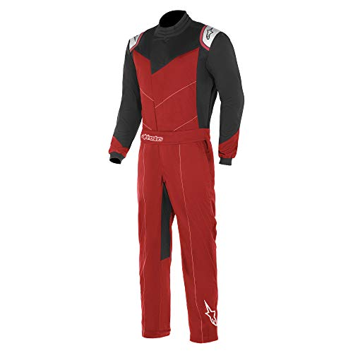 ALPINESTARS KART INDOOR SUIT - RED/BLACK - 2XL