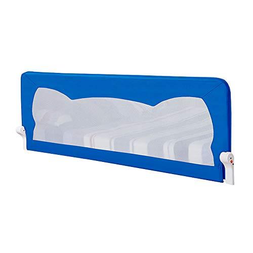 Bezpieczna barierka dla niemowląt bardzo długa osłona szyny do łóżeczka dziecięcego – ze stali nierdzewnej składana osłona łóżka zabezpieczająca, zabezpieczenie przed upadkiem na łóżko dla niemowląt i dzieci