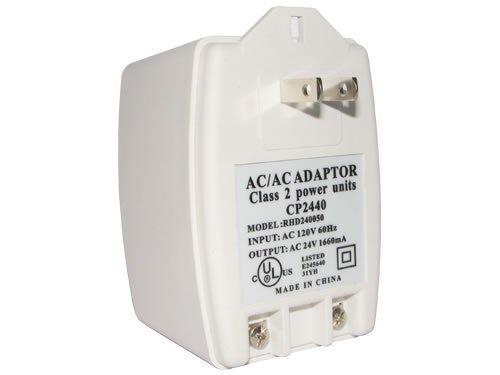 24V40AC 24V AC 40VA Transformer Input: AC 110V / 120V 60Hz Output: AC 24V 1660mA UL Listed 110V AC