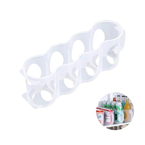OCEANE Tragbarer Getränkedosen-Organizer für Kühlschrankregal, Küchenschrank-Raumspar-Organisationsregal, für Pantry-Raumsparer