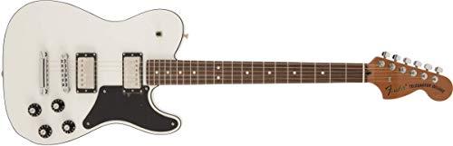 Fender - Tabla para cortar troublemaker Telecaster, madera de palisandro, color blanco ártico