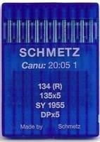 Schmetz Agujas para máquina de coser industrial: 134 (R) – 120/19 (paquete de 10) – Compra 2 Get 3rd Gratis! + Enhebrador de agujas (3 paquetes por el precio de 2)