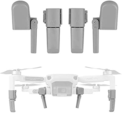Taisioner Landing Legs Extender Gear for DJI Mavic Mini 2 Flying Protective Mount Holder Shockproof Crash Proof Accessories by Ubrand