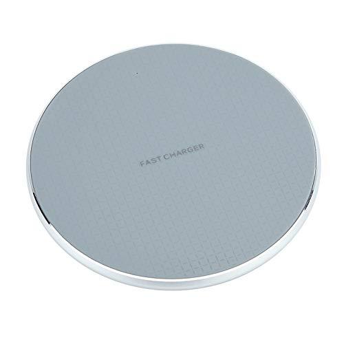 XIANGBEI Cargador inalámbrico rápido de 10 W, estación de carga rápida para S20 / S20 Ultra / S9 / S8 / S8 Plus / S7 iPhone 11 X XS XR 8 Huawei Mate 20pro P30pro