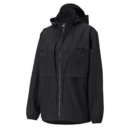 PUMA Train First Mile Woven Jacket Chaqueta De Entrenamiento, Mujer, Black, L
