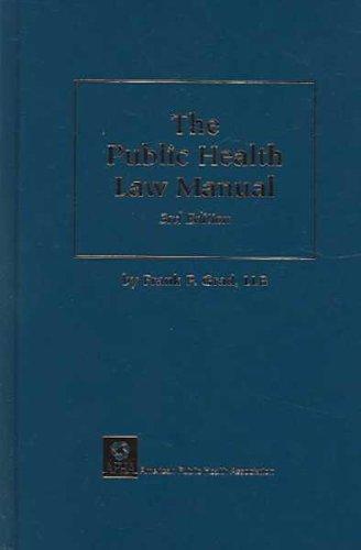 Public Health Law Manual
