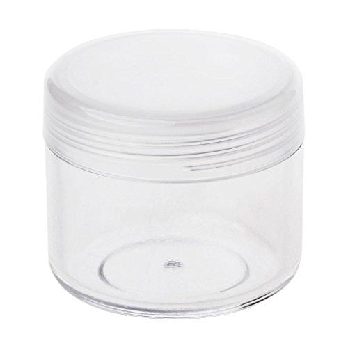 jackyee Transparent PP Crème Bouteille Boîte D'échantillon -20G Pot De Maquillage Mini Bouteille D'échantillon Voyage Cosmétique Pot Visage Crème Conteneur De La Boîte À Ongles