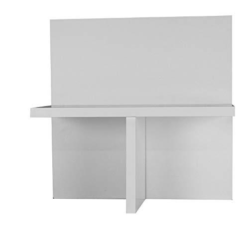 !!NEU!! IKEA Design Zubehör Kallax Expedit Ablage CD Einsatz Regalkreuz Fachteiler für 60 CDs Rückwand gegen Durchrutschen CD-Regal Regaleinsatz Anne HKF33,5 x 33,5 x 16 cm flach weiß