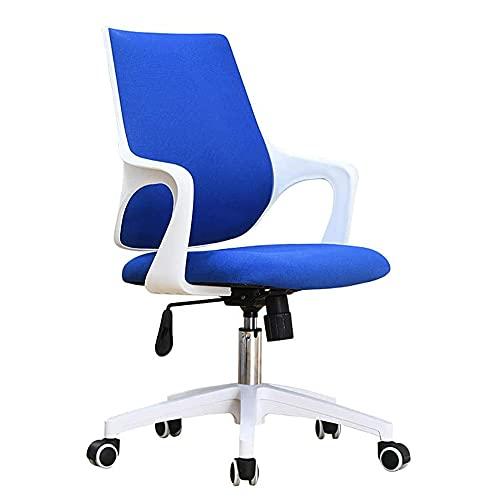 COUYY Sedia per Computer in Rete Domestica per Ufficio Sedia Girevole Sedia Sedia Ascensore Sedia Ascensore,Blue 2