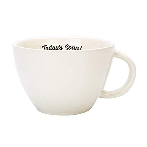 PIVFEDQX Tazas para Bebidas Taza De Café De Cerámica con Asa Tazón De Desayuno Tazas De Agua/Té/Leche/Jugo/Avena Regalos Simples Creativos Coloridos Tazas De Café Amarillas Rojas Blancas