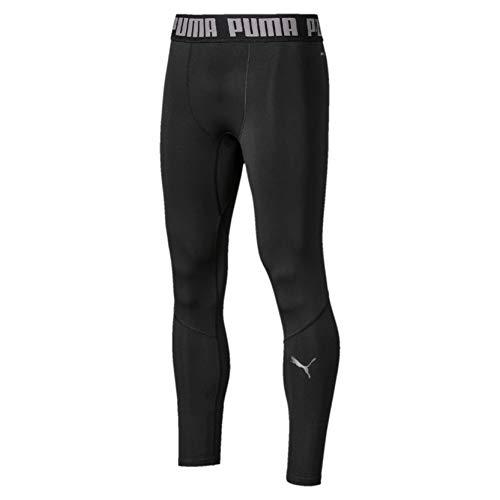 PUMA BND Long Tight Mallas Deporte, Hombre, Black, XL
