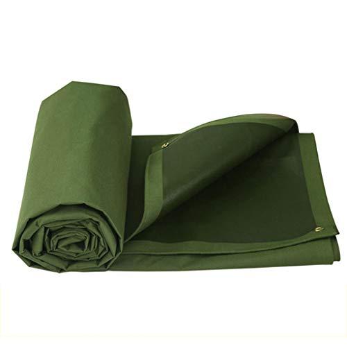 LQ - Lona de protección antideslizante de tejido aislante de lona (toldo, 5 m x 4 m)