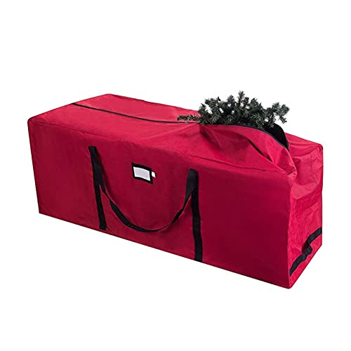 Christmas tree storage bag,Heavy duty Storage Bag for Artificial Christmas Tree - Suitable for up to 9ft Tall Xmas Trees