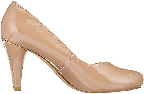 Clarks Damen Dalia Rose Pumps, Beige (Nude Patent), 40 EU