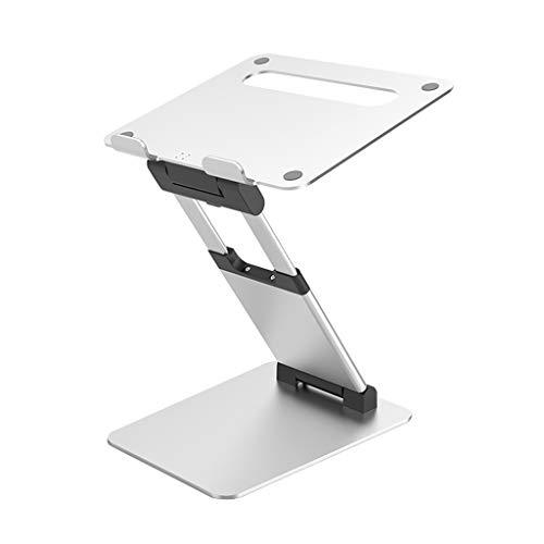 El Soporte para Computadora Portátil Que Se Puede Usar De Pie Está Diseñado para Aumentar La Altura De La Vista hasta 70 Cm, Soporta 30 Kg Y El Soporte para Computadora Portátil Plegable, Adecuado P