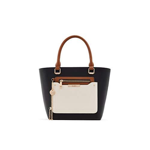 ALDO Women's Perimma Totes Bags, Black, Medium US