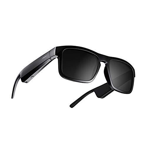 Bose Frames Tenor: Lunettes de Soleil polarisées à Monture rectangulaire, Bluetooth – Noir