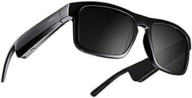 Bose Frames Tenor – Rechthoekige Bluetooth-zonnebril met gepolariseerde glazen – Zwart