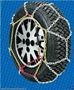 Pair Polar 9mm Snow Chains for Cars for Tyre Size 215 60 16 Part Number 100
