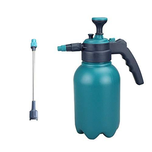 Spruzzatore manuale a pressione pneumatica, 2 l, annaffiatoio con asta di prolunga da 22,5 cm e ugello regolabile rotante, utilizzato per giardinaggio