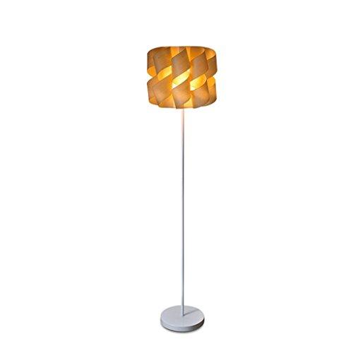 LY88 Licht Hotel Schlafzimmer Dekorative Stehlampe Chinesischen Vintage Sägemehl Rolle Lampenschirm