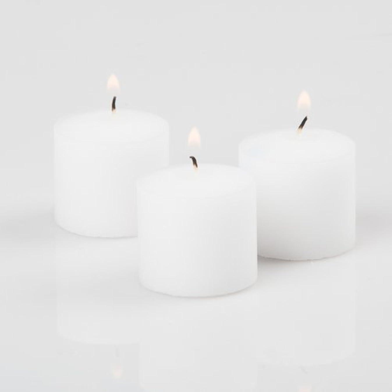 Richland Votive Candles White Unscented 10 Hour Burn Set of 72