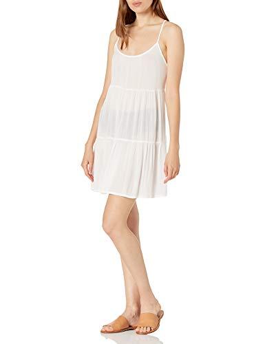 Roxy Women's Sand Dune Cover Up Dress, Bright White, S
