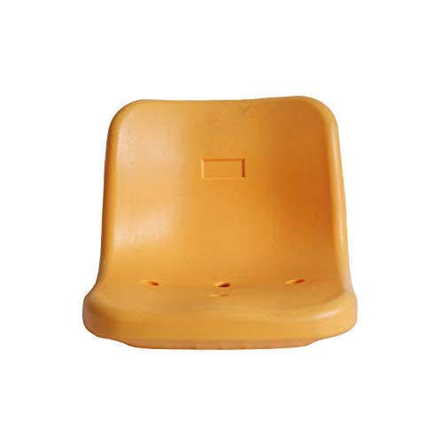smart group High Backrest HDPE Plastic Stadium Seats for Bleachers or Cement Steps