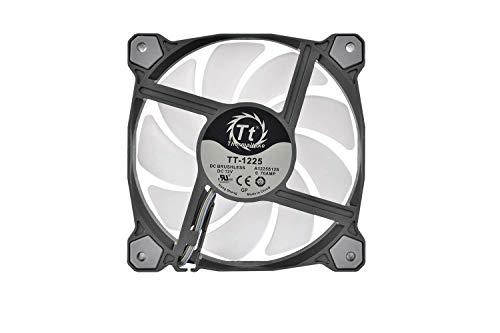 Thermaltake Pure 12 Argb Sync Gehäuselüfter Tt-Premium Edition (3-Fan Pack),CL-F079-PL12SW-A,Schwarz