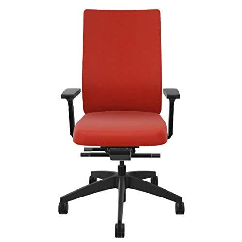 Sedus se:do Bürostuhl, Schreibtischstuhl, individuell anpassbar, ideal fürs Home-Office (Orange)