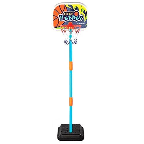 Soporte de Baloncesto portátil Juguetes de Baloncesto para niños, Juguetes de Baloncesto para Padres y niños, Juguetes de Tiro portátiles para Interiores y Exteriores