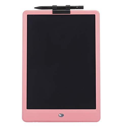 Tablero de Dibujo electrónico Tablero de Escritura LCD Tablero de Escritura de 10 Pulgadas Flexible para enseñanza de niños(Pink)