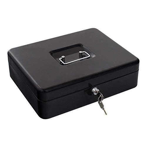 Rottner 2740 Traun 4-Cash Box gelddoos met lade - zwart