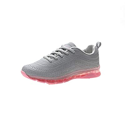 RAINED-New Women Breathable Sneakers Flying Running Woven Mesh Lace-Up Casual Sports Shoes Non-Slip Lightweight Shoes