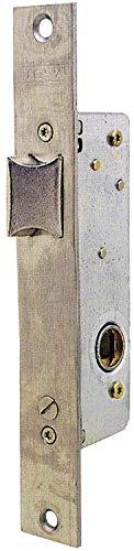 Tesa Assa Abloy 221538AI Cerradura Monopunto De Palanca Deslizante Para Perfiles Metálicos Inoxidable Entrada 30 mm 2215