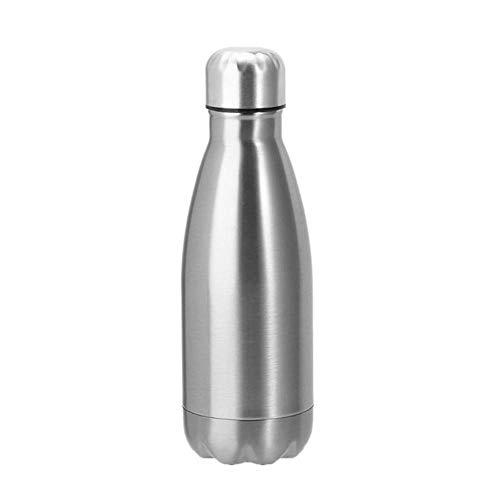GH-YS Frasco De VacíO 350/500 / 1000ml, Botella De Bebida con Aislamiento De Acero Inoxidable Al VacíO Y Taza PortáTil PortáTil De Gran Capacidad